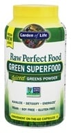 Garden of Life - Perfect Food RAW Green Super Food - 240 Vegetarian Capsules, from category: Nutritional Supplements