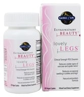 Garden of Life - Extraordinary Beauty Lovely Legs - 30 Vegetarian Caplet(s) - $21.60