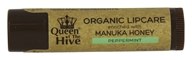 Wedderspoon Organic - Queen of the Hive Natural Lip Balm - 0.15 oz. Formerly Organic Lip Balm Manuka Kiss Lipcare by Wedderspoon Organic