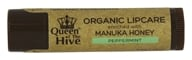 Image of Wedderspoon Organic - Queen of the Hive Natural Lip Balm - 0.15 oz. Formerly Organic Lip Balm Manuka Kiss Lipcare