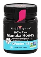 Wedderspoon Organic - Manuka Honey Unpasteurized Active 12+ - 8.8 oz. by Wedderspoon Organic