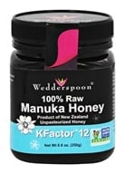 Wedderspoon Organic - Manuka Honey Unpasteurized Active 12+ - 8.8 oz. (094922556677)