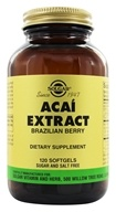 Solgar - Acai Extract Brazilian Berry - 120 Softgels, from category: Nutritional Supplements