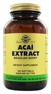 Solgar - Acai Extract Brazilian Berry - 120 Softgels