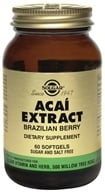 Solgar - Acai Extract Brazilian Berry - 60 Softgels - $13.84