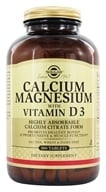 Solgar - Calcium Magnesium with Vitamin D3 - 300 Tablets (033984005198)