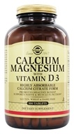 Solgar - Calcium Magnesium with Vitamin D3 - 300 Tablets - $22.23