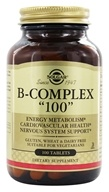 Solgar - B-Complex 100 - 100 Tablets, from category: Vitamins & Minerals
