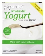 Yogourmet - Freeze-Dried Yogurt Probiotic Starter Set - 6 x 5g Packets (056828121090)