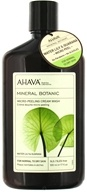 AHAVA - Mineral Botanic Micro-Peeling Cream Wash Water Lily & Guarana - 17 oz.