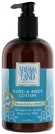 AromaLand - Natural Hand & Body Lotion Rosemary & Mint - 12 oz. - $6.81