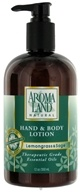 AromaLand - Natural Hand & Body Lotion Lemongrass & Sage - 12 oz. - $6.81