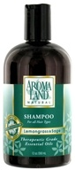 AromaLand - Natural Shampoo For All Hair Types Lemongrass & Sage - 12 oz. CLEARANCE PRICED