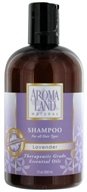 AromaLand - Natural Shampoo For All Hair Types Lavender - 12 oz.