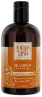 AromaLand - Natural Shampoo For All Hair Types Jasmine & Clementine - 12 oz.