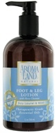 AromaLand - Natural Foot & Leg Lotion With Horse Chestnut Bay Laurel & Mint - 12 oz.