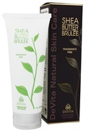 DeVita - Natural Skin Care Shea Butter Hand & Body Brulee Fragrance Free - 7 oz. (682941123651)