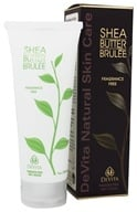 DeVita - Natural Skin Care Shea Butter Hand & Body Brulee Fragrance Free - 7 oz. by DeVita
