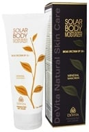DeVita - Natural Skin Care Solar Body Moisturizer 30 SPF - 7 oz. Formerly Solar Body Moisturizer by DeVita