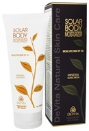 DeVita - Natural Skin Care Solar Body Moisturizer 30 SPF - 7 oz. Formerly Solar Body Moisturizer (682941123705)