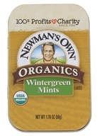 Image of Newman's Own Organics - Mints Tin Wintergreen - 1.76 oz.