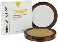 Image of Mineral Fusion - Base Pressed Powder Foundation Warm 3 - 0.32 oz. CLEARANCE PRICED