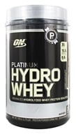 Optimum Nutrition - Platinum Hydro Whey Advanced Hydrolyzed Whey Protein Turbo Chocolate - 1.75 lbs.