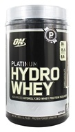 Image of Optimum Nutrition - Platinum Hydro Whey Advanced Hydrolyzed Whey Protein Turbo Chocolate - 1.75 lbs.