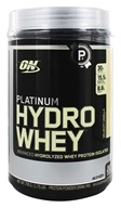 Image of Optimum Nutrition - Platinum Hydro Whey Advanced Hydrolyzed Whey Protein Velocity Vanilla - 1.75 lbs.