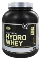 Image of Optimum Nutrition - Platinum Hydro Whey Advanced Hydrolyzed Whey Protein Turbo Chocolate - 3.5 lbs.