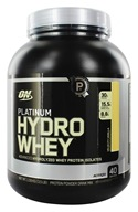 Optimum Nutrition - Platinum Hydro Whey Advanced Hydrolyzed Whey Protein Velocity Vanilla - 3.5 lbs., from category: Sports Nutrition