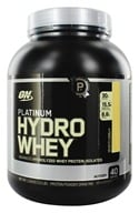 Image of Optimum Nutrition - Platinum Hydro Whey Advanced Hydrolyzed Whey Protein Velocity Vanilla - 3.5 lbs.