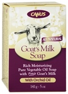 Canus - Goat's Milk Bar Soap with Orchid Oil - 5 oz. (779242000955)