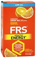 FRS Healthy Energy - Powdered Drink Mix Diet Orange - 14 Packet(s) - $14.24