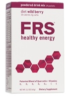 FRS Healthy Energy - Powdered Drink Mix Diet Wild Berry - 14 Packet(s)