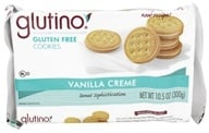 Glutino - Gluten Free Dream Cookies Vanilla Creme - 10.6 oz. by Glutino