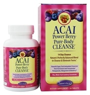 Nature's Secret - Pure Body Cleanse Acai Powered Berry - 56 Tablets