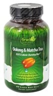 Image of Irwin Naturals - Oolong & Matcha Tea Rapid Calorie-Burning Diet - 63 Softgels Contains Schisandra
