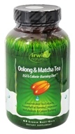 Irwin Naturals - Oolong & Matcha Tea Rapid Calorie-Burning Diet - 63 Softgels Contains Schisandra