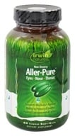 Image of Irwin Naturals - Aller-Pure Non-Drowsy For Eyes, Nose, & Throat - 60 Softgels