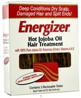 Hobe Labs - Energizer Hot Jojoba Oil Hair Treatment - 3 Pack(s) CLEARANCED PRICED - $5.19