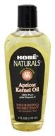 Image of Hobe Labs - Apricot Kernel Oil 100% Pure with Vitamin E - 4 oz.