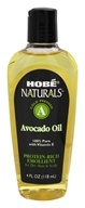 Hobe Labs - Avocado Oil 100% Pure with Vitamin E - 4 oz. by Hobe Labs