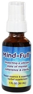 Flower Essence Services - Mind Full Formula - 1 oz. - $11.99
