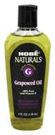 Hobe Labs - Grapeseed Oil 100% Pure with Vitamin E - 4 oz. by Hobe Labs