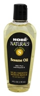 Hobe Labs - Sesame Oil 100% Pure with Vitamin E - 4 oz. by Hobe Labs