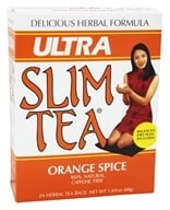 Hobe Labs - Ultra Slim Tea 100% Natural Caffeine Free Orange Spice - 24 Tea Bags