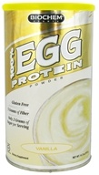 Biochem by Country Life - 100% Egg Protein Powder Vanilla - 14.7 oz., from category: Sports Nutrition