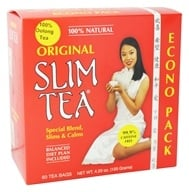 Hobe Labs - Slim Tea 100% Natural Original - 60 Tea Bags