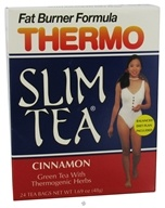 Hobe Labs - Thermo Slim Tea Fat Burner Formula Cinnamon - 24 Tea Bags